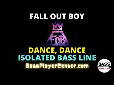 Dance, Dance - Fall Out Boy - Isolated Bass Line (bass guitar only)