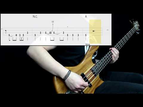 Jet - Are You Gonna Be My Girl (Bass Cover) (Play Along Tabs In Video)
