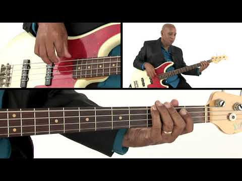 Motown Bass Guitar Lesson - Dropping the Biscuit - Andrew Ford