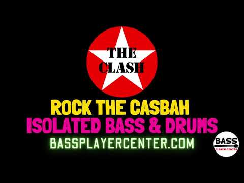 The Clash - Rock The Casbah - Isolated Bass, Drums & Percussion