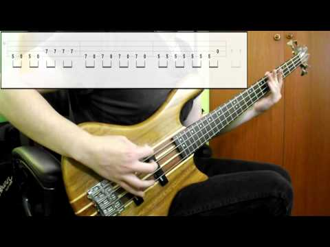 Greenday - Longview (Bass Cover) (Play Along Tabs In Video)