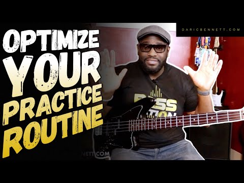 Optimize your Practice Routine with this Tool ~ Bass Guitar Lesson
