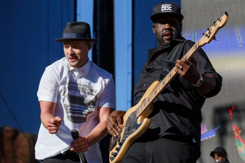 Bass Guitar Player Adam Blackstone