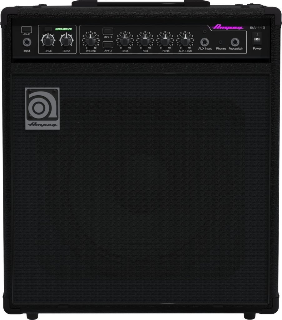 Ampeg BA115 Recommended Bass Amps for Beginners