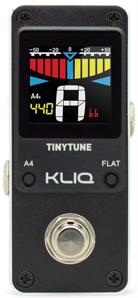 KLIQ TinyTune Pedal for Bass Guitar