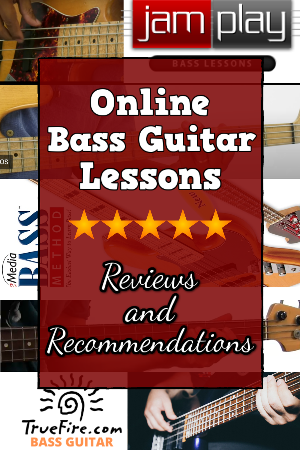 Online Bass Lessons Reviews and Recommendations