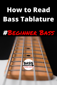 How to read bass tablature