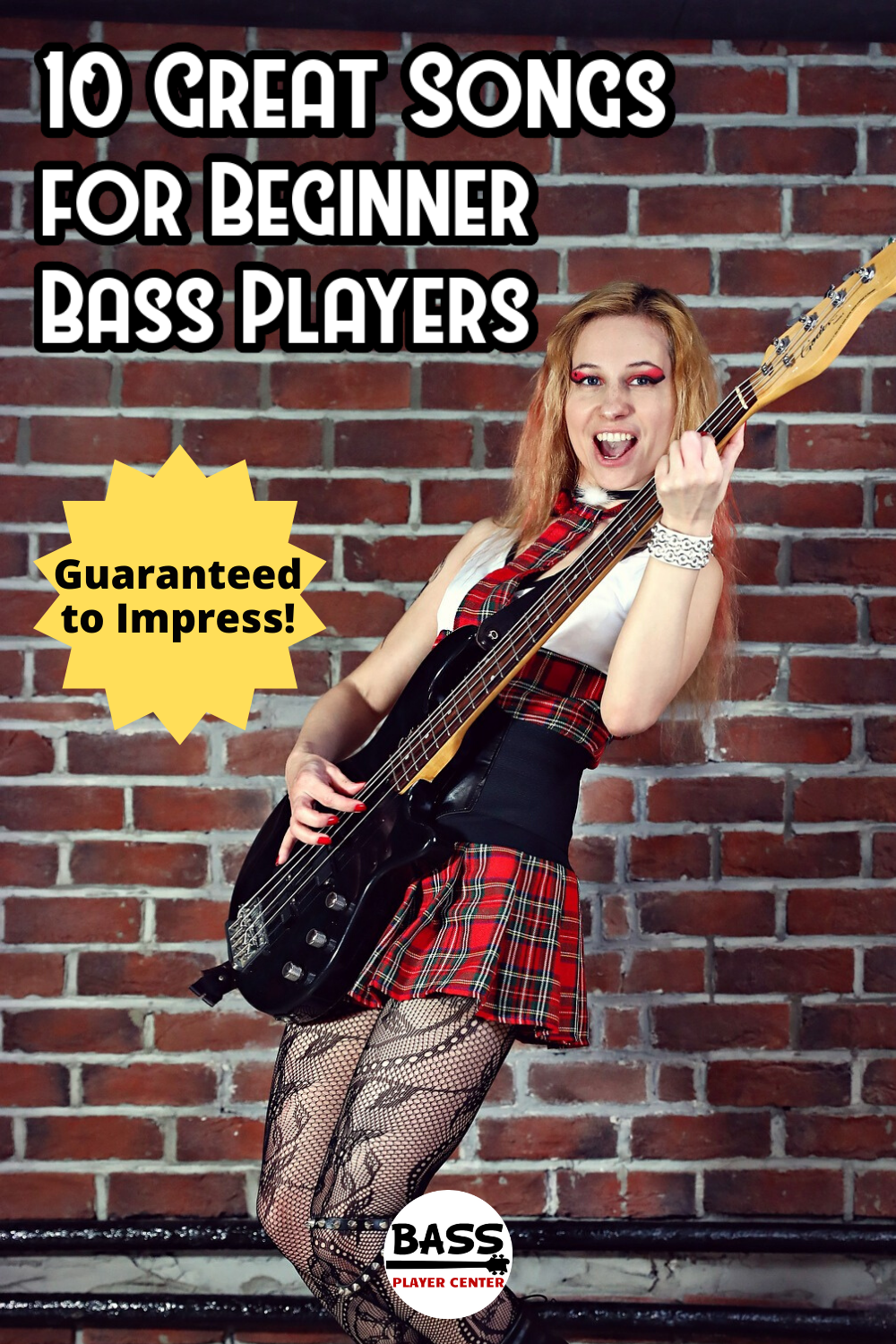 10 Great Songs for Beginner Bass Players