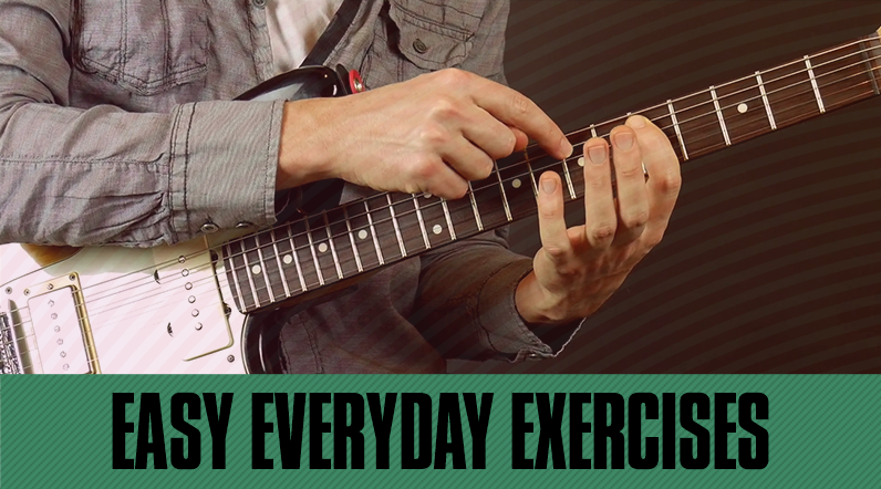 3 Guitar Exercises to Help You Improve
