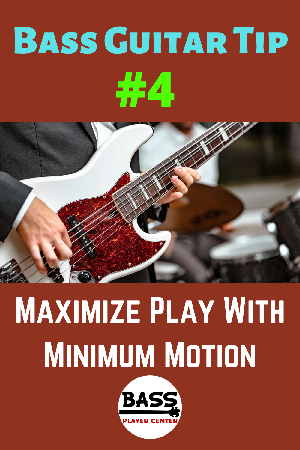 Bass Guitar Tip Maximize Play With Minimum Motion