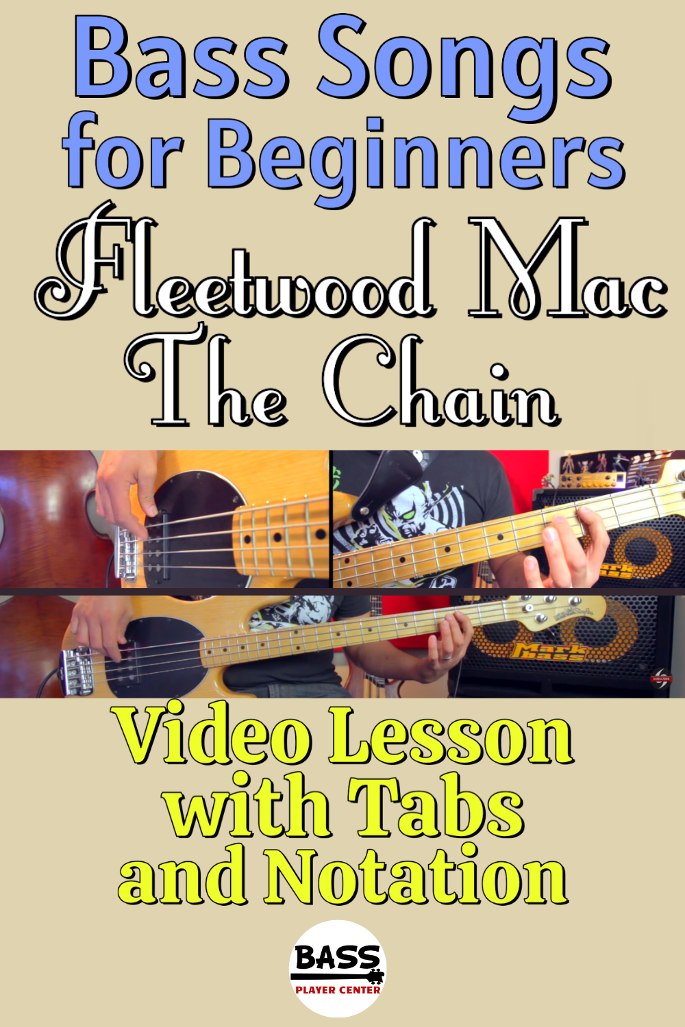 Bass Songs for Beginners The Chain Fleetwood Mac