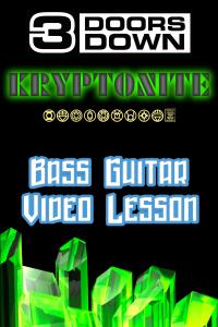 Easy Bass Songs for Beginners Kryptonite 3 Doors Down