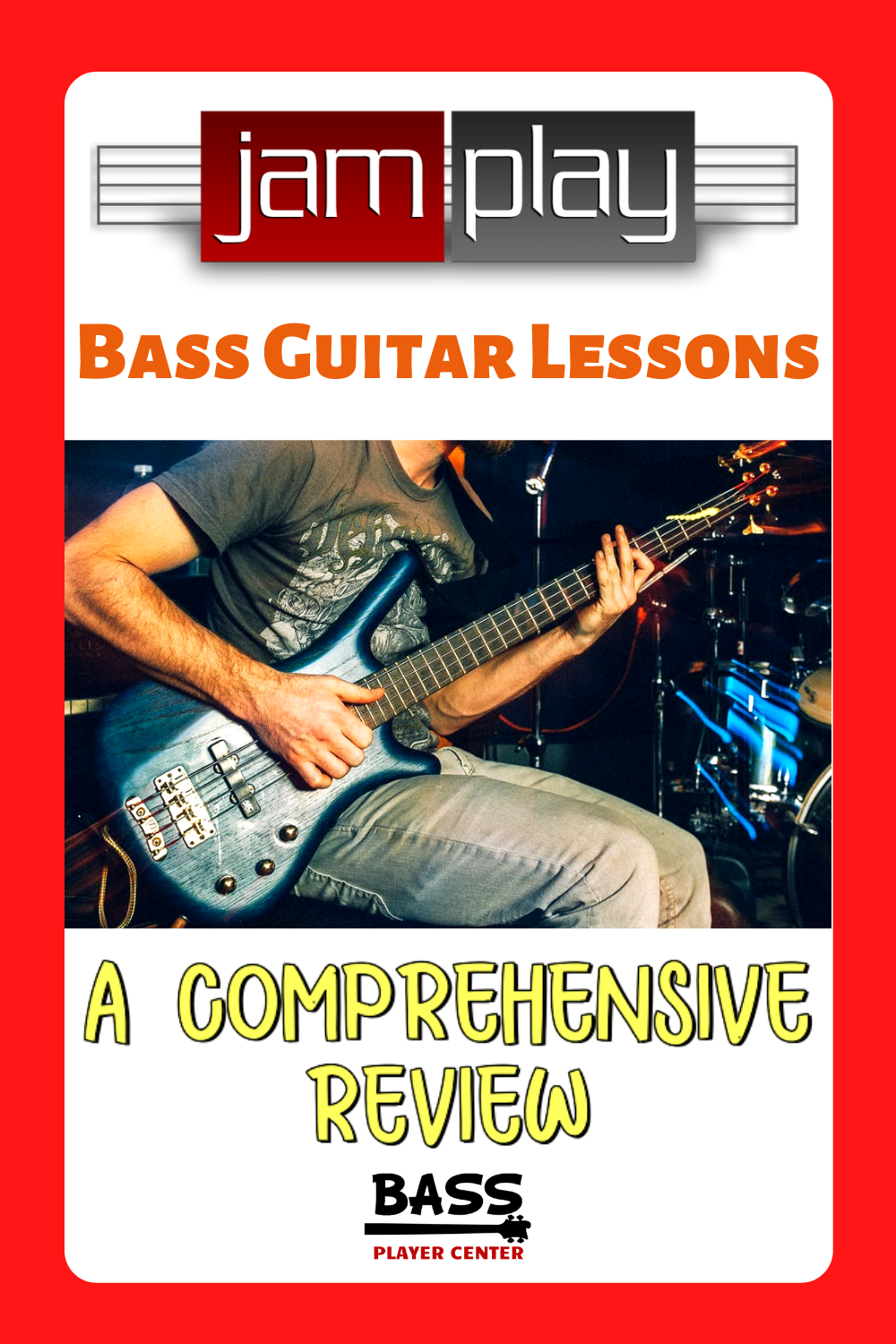 JamPlay Bass Guitar Lessons Review
