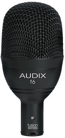 Audix F6 Instrument Dynamic Microphone Best Microphones for Recording Bass Guitar