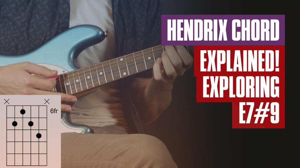 Beginner Guitar Lesson - The E7#9 Hendrix Chord