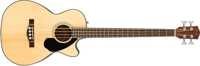 Fender CB-60SCE Good Beginner Acoustic Bass Guitar