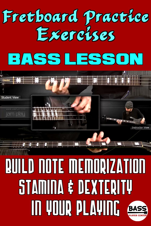 Fretboard Practice Exercises Bass Guitar Lesson