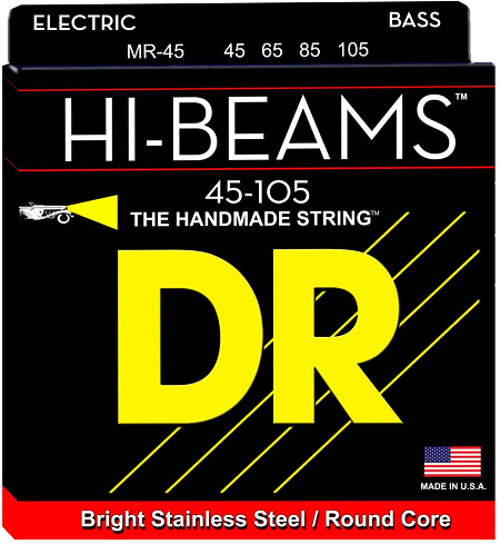 DR Hi-Beams Strings Best Strings for Slap Bass Guitar