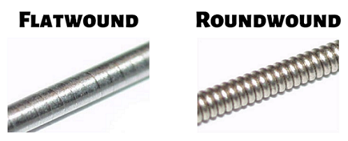 Flatwound vs. Roundwound Bass Guitar Strings