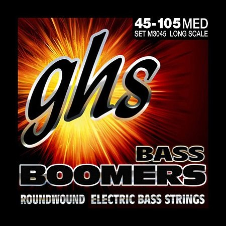 GHS Bass Boomers Best Strings for Slap Bass Guitar