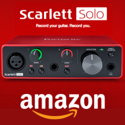 Fcusrite Scarlett Solo (3rd Gen) USB Audio Interface with Pro Tools