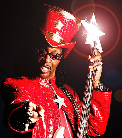 Bootsy Collins Says Know Your Modes for Bass Guitar