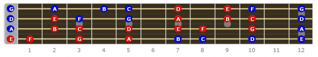 Phrygian Fretboard - Why Do I Need to Know Modes on Bass Guitar?