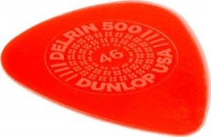 Delrin 500 thin guitar pick