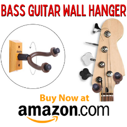Bass Guitar Wall Hanger