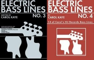 How to Play the Electric Bass by Carol Kaye Bass Lines 3 and 4