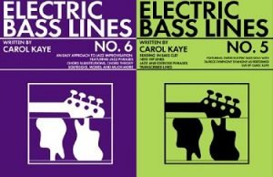 How to Play the Electric Bass by Carol Kaye Bass Lines 5 and 6