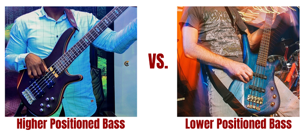 Higher Positioned Bass vs Lower Positioned Bass Straps