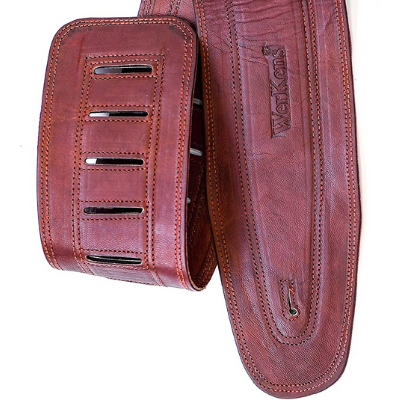 Leather Bass Guitar Strap Material