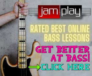 Bass Tab Fret Numbers