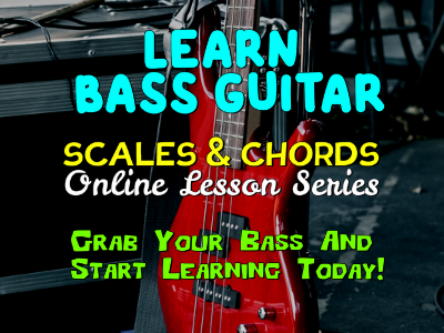 Bass Guitar Lesson Scales and Chords