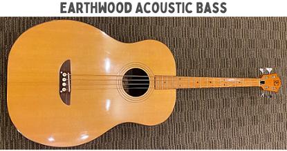 Earthwood Acoustic Bass Guitar 1