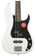 Squier Affinity Precision PJ Olympic White low cost 4 string