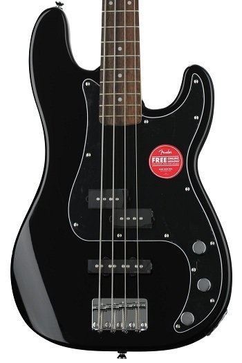 Squier Affinity Series Precision Bass PJ best affordable new bass