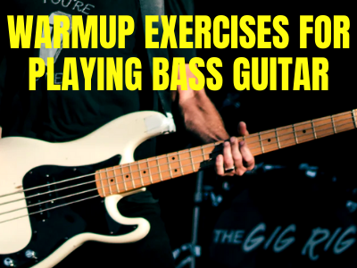 Warmup Exercises for Playing Bass Guitar New