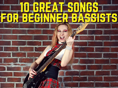 10 Great Songs for Beginner Bass Players Home New