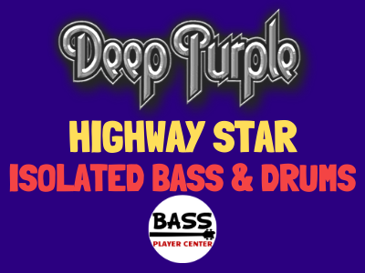 Deep Purple Highway Star Isolated Bass and Drums Homepage
