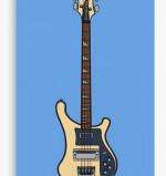 1978 Rickenbacker 4001 Canvas Print