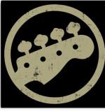 Bass Guitar Headstock Canvas Print