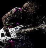 """""""Exploding Bassist"""" Flea – Canvas Print"""