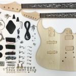 DIY Double Neck Guitar and Bass Kit