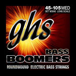 GHS Bass Boomers Strings for Popping and Slapping